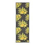 Tapete Diseño Limones 149x50 cm Gris