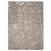 Tapete Diseño Damask 221x160 cm Gris Oscuro