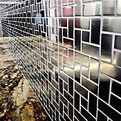Malla de Acero Inoxidable 304 - Tramado de Cuadrados y Rectangulos