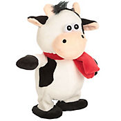 Vaca 20cm Palabras Animado Bateria