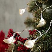 Juego De 10 Luces Led Aroma Blanca