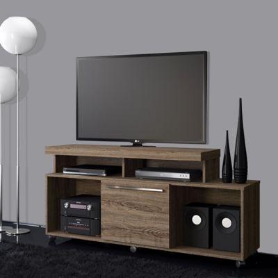 Mesa para tv quebec de 55 pulgadas roble berl n 150x67 for Mesa para tv 55 pulgadas