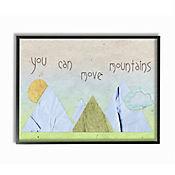 Cuadro Decorativo You Can Move Mountains Collage 28x36