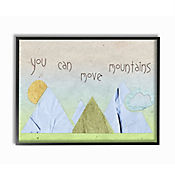 Cuadro Decorativo You Can Move Mountains Collage 41x51