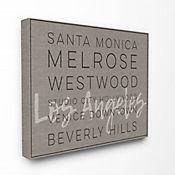 Cuadro en Lienzo Santa Mónica Beverly Hills 61x76
