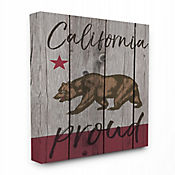 Cuadro en Lienzo California Proud 41x51