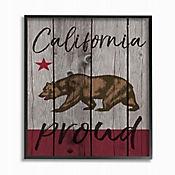 Cuadro en Lienzo California Proud 28x36