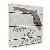 Cuadro en Lienzo Born & Raised Florida 61x76