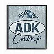 Cuadro en Lienzo Adk Camp Enmarcado 28x36