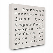 Cuadro en Lienzo A Perfect Marriage 41x51
