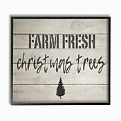 Cuadro en Lienzo Farm Fresh Vintage Enmarcado 41x51