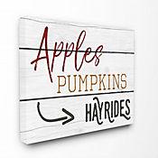 Cuadro en Lienzo Apple Pumpkins 61x76