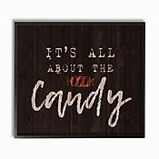 Cuadro en Lienzo Its All About The Candy Enmarcado 28x36