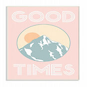 Cuadro en Lienzo Good Times Rosa Placa 25x38