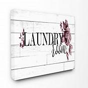 Cuadro en Lienzo Laundry Room Vintage Chic 25x61