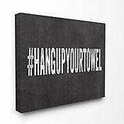 Cuadro en Lienzo Hang Up Your Towel 25x61