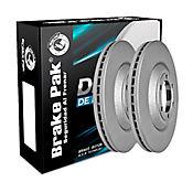Discos de Freno Chevr. Dmax Rt50 4x2-4x4 3.0 Delanteras Ref. DF-0035x2A