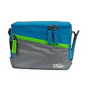 Lonchera Térmica Porta Comida Lunch Bag Azul Claro 10 Lt