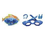 Gafas de Natación y Accesorios de Piscina para Niños Azul