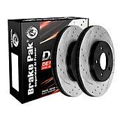 Discos de Freno Ford Escape Ii 2.3-2.5-3.0-4.0 4x2 Ref. DF-0131HPx1