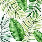 Servilleta 33x33cm 20und Jungle Leaves