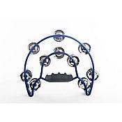 Pandereta Media Luna Doble Azul Plástico LTW20BL