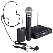 Micrófonos Inalámbrico de Mano y Solapa VHF