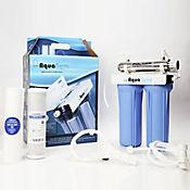 Purificador  Esterilizador De 2 Vasos Azules Conexión De 1/2 Pulg