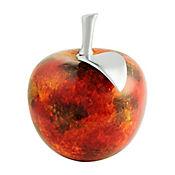 Fruta Manzana 23 cm Naranja Guayacan
