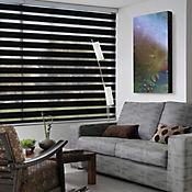 Persiana Roller Dúo 160x180 cm Color Big Black