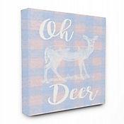 Cuadro en Lienzo Oh Deer White Stain 61x76