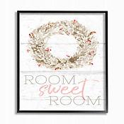 Cuadro en Lienzo Room Sweet Room Boxwood Enmarcado 28x36
