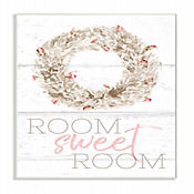 Cuadro Decorativo Room Sweet Room Boxwood Placa 25x38