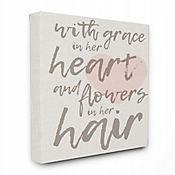 Cuadro en Lienzo Grace In Her Heart 76x102