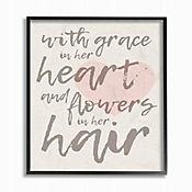 Cuadro en Lienzo Grace In Her Heart Enmarcado 41x51