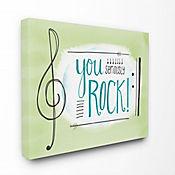 Cuadro en Lienzo You Seriously Rock Music Symbol 61x76