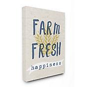 Cuadro en Lienzo Farm Fresh Happiness Wheat 76x102