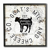 Cuadro en Lienzo Goat Milk Cheese Co Enmcarcado 30x30