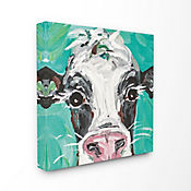 Cuadro en Lienzo Oreo The Painted Cow 43x43