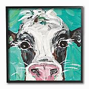 Cuadro en Lienzo Oreo The Painted Cow Enmarcado 30x30