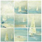 Cuadro en Lienzo Racing Tall Ships 9 Piezas
