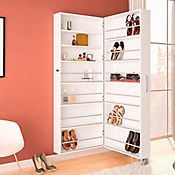 Mueble para Zapatos Itu 192x70x33cm Blanco