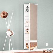 Mueble para Zapatos Itabuna 179x54x16cm Blanco