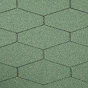 Teja Ranchera Verde Cubre 2.77 m2 Caja x 25 Unidades