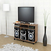 Mesa para TV Siena con Rodachinas 66,5x120x35cm Amaretto