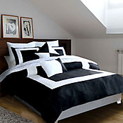 Duvet Diamond Black King 200x200cm