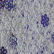 Recubrimiento Decorativo de Pared Papatya 4,5M2 Morado
