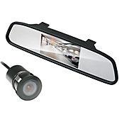 Espejo Sensor + Cámara Reversa BT 7001