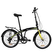 Bicicleta Plegable Phantom Rin 24 Pulgadas Negro