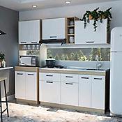 Cocina Integral Belmira 1.50 Metros Rovere - Blanco